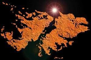 La Historia de las islas que tienen la bandera inglesa